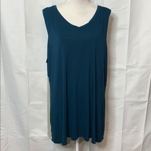 LOGO Layers Lori Goldstein Sleeveless Tunic Sz 3X